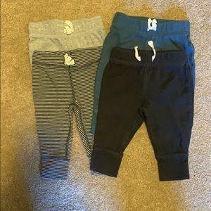 Carter's 3 month boy pants (set of 4)